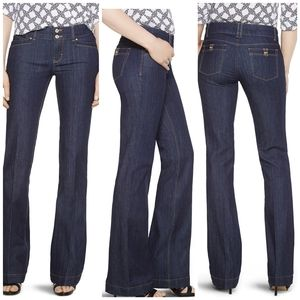 WHBM The Trouser hi-rise jeans size 0